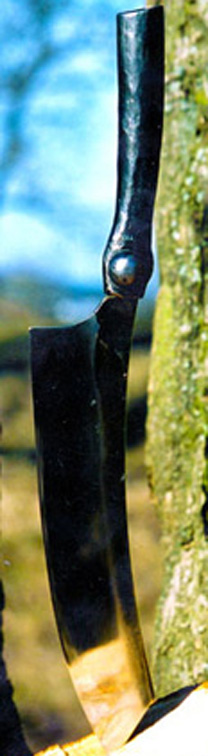 Handsmidd kniv från Silas Metallkonst