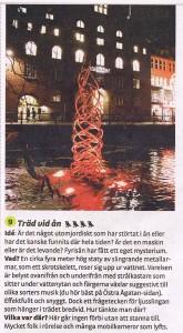Allt ljus på Uppsala 2012