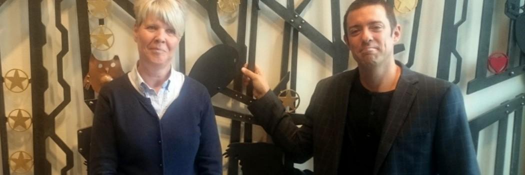 Smidesgrind till Brännkärrsskolan i Knivsta av Silas Metallkonst