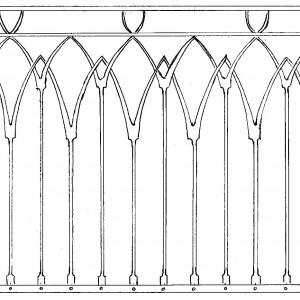 Balkongräcke eller staket