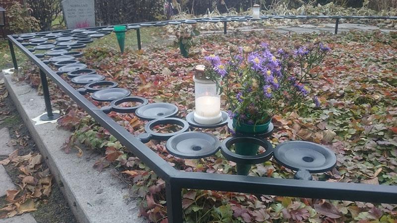 Ljusbärare till Funbo kyrka utanför Uppsala